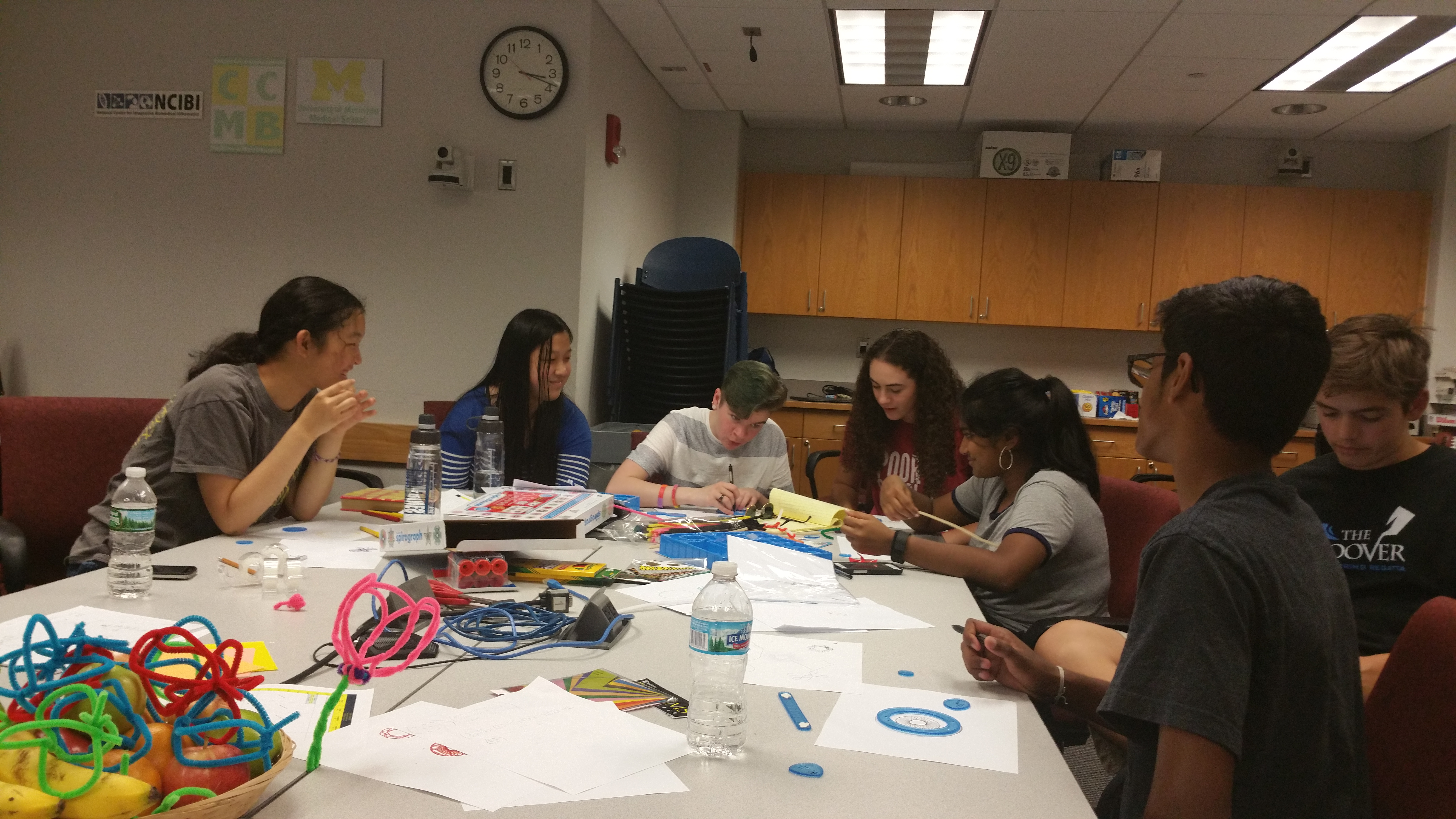 Raising the next generation of data scientists at the MIDAS Summer Camp