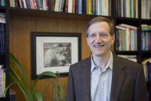 Gary King, Albert J. Weatherhead III University Professor is the lead author of a new study that shows the bias in Social Security forecasts has been on the rise since 2000.at Harvard University. Kris Snibbe/Harvard Staff Photographer